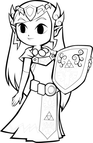 Zelda clipart princess zelda To Click Pages page Printable