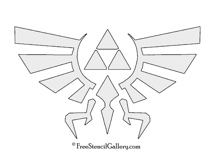 Zelda clipart pumpkin stencil Zelda Legend Best of 25+