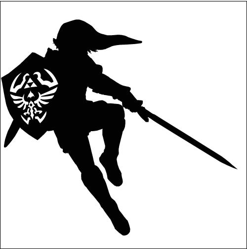 Zelda clipart stencil #13