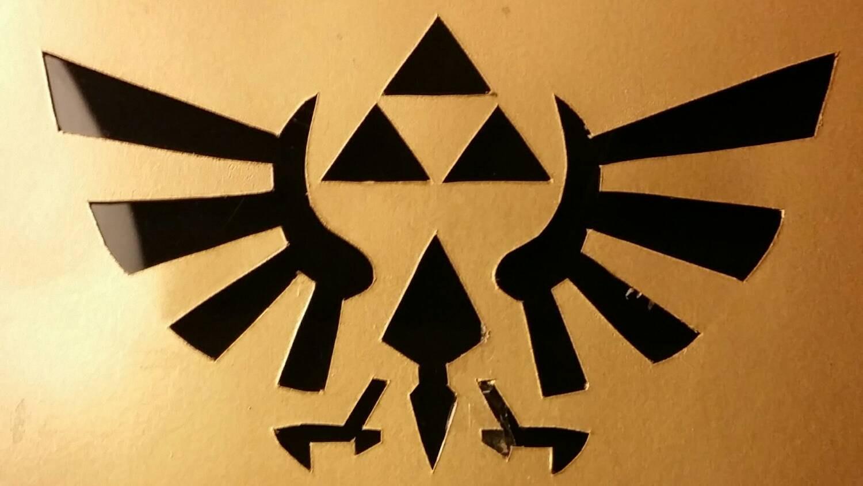Zelda clipart stencil #5