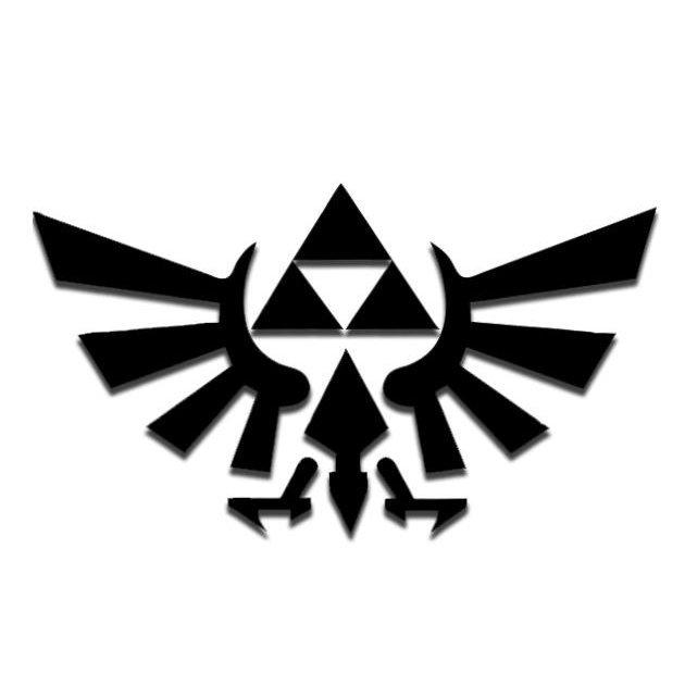 Zelda clipart stencil #8