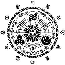 Zelda clipart stencil #14
