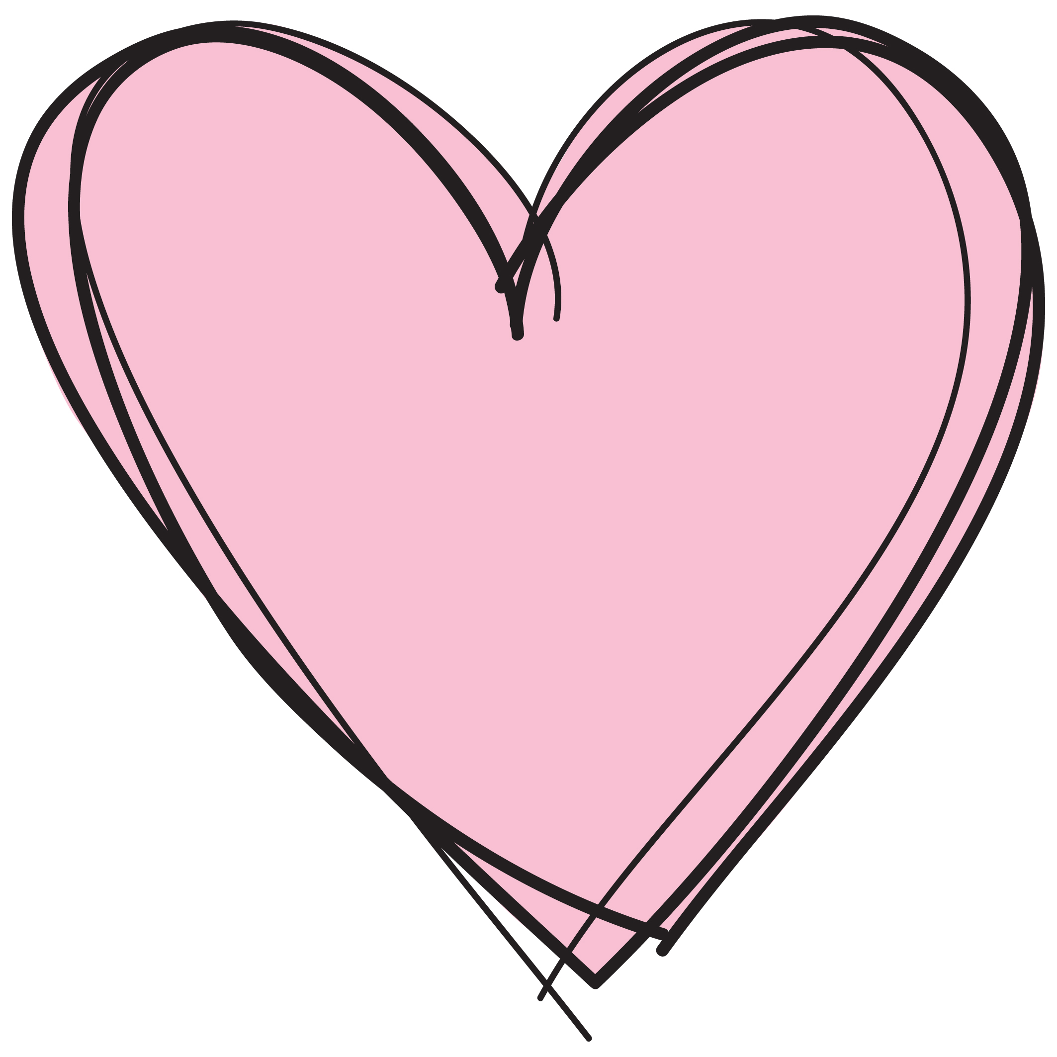 Hearts clipart transparent background Free collection background with art