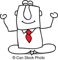 Zen clipart  very for businessman illustration