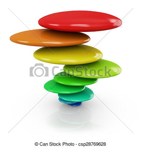 Zen clipart acceptance Clip white on balance a