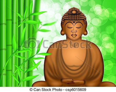 Zen clipart guru Meditating Zen Forest Stock Bamboo