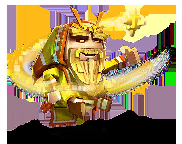 Zen clipart guru Hero 1 — Boss 6M