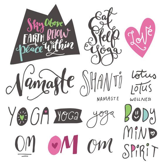 Zen clipart yoga From Yoga Shanti 30% SVG