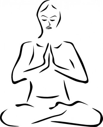 Zen clipart yoga poses #4