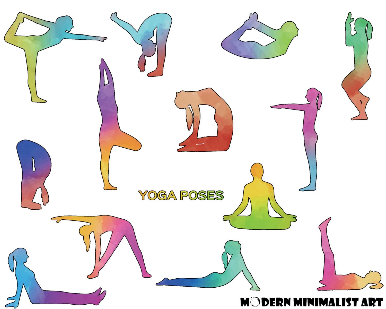 Zen clipart yoga poses #5