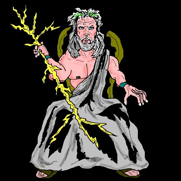 Zeus clipart angry Free  Zeus Clip Art