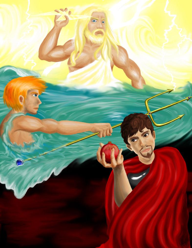 Zeus clipart demeter Zeus Hades Picture Hades Zeus