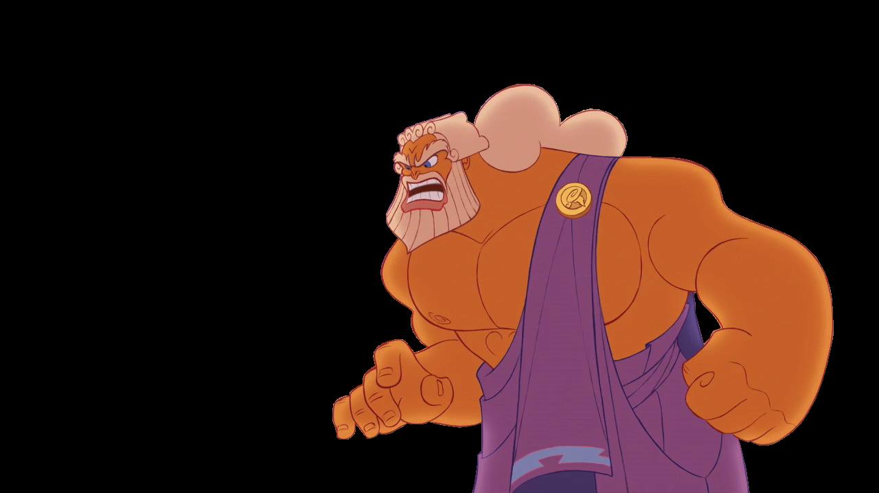 Zeus clipart disney De cliparts versión monte Olimpo