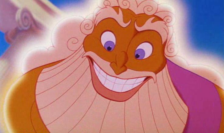 Zeus clipart hercules 1997 Disney  *ZEUS Hercules ZEUS