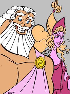 Zeus clipart hercules 1997 *ZUES best on