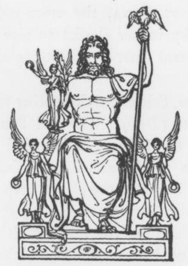 Zeus clipart roman god Mythology 9th for of Greek