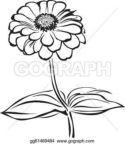 Zinnea clipart Free Clip flowers Royalty ·