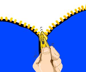 Zipper clipart first Unzipping unzip ya the gotta