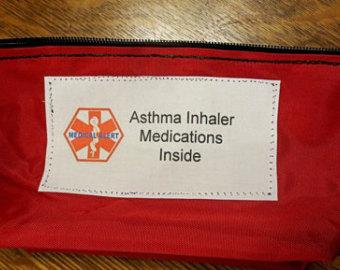 Zipper clipart medical Asthma Inhaler Etsy medical /