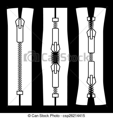 Zipper clipart medical Of Vector Zipper Vector types