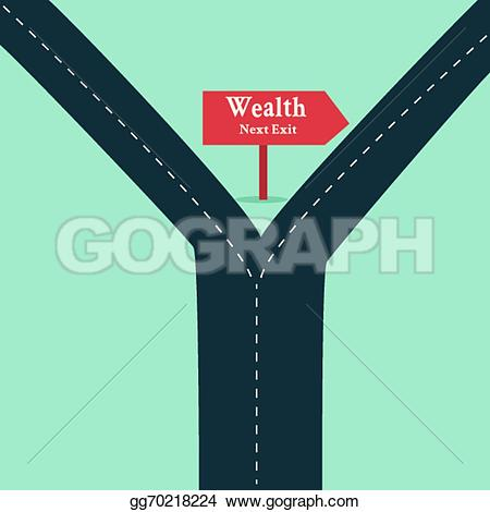 Zipper clipart road Arrow road Art highway sign