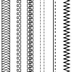 Zipper clipart stitching Design Brushes free Zippers