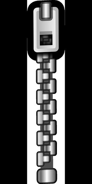 Zipper clipart transparent Free Metal Domain Zipper Clip