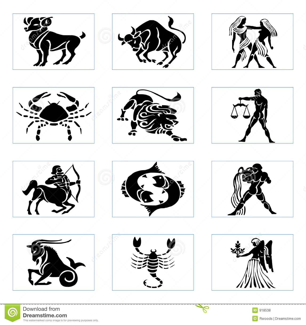 Zodiac clipart  zodiac Free Royalty Stock
