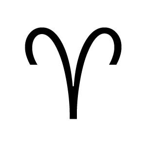 Zodiac clipart aries The astrological Zodiac Aries The