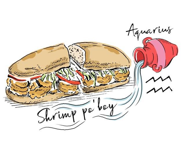Sandwich clipart food fair Sandwich horoscope Sign sandwich august