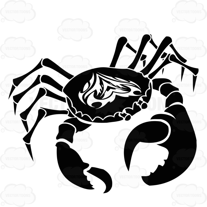 Zodiac clipart cancer #crystalgazing #crab For Cartoon #horoscope