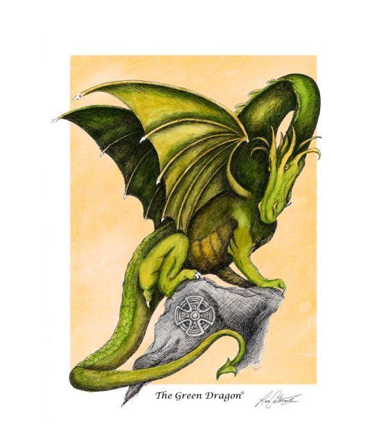 Zodiac clipart celtic Clipart zodiac green dragon Celtic