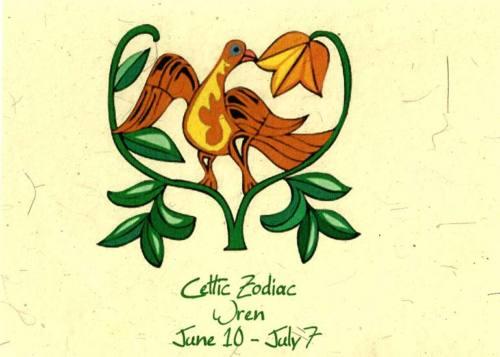 Zodiac clipart celtic Zodiac Zodiac WREN  zodiac