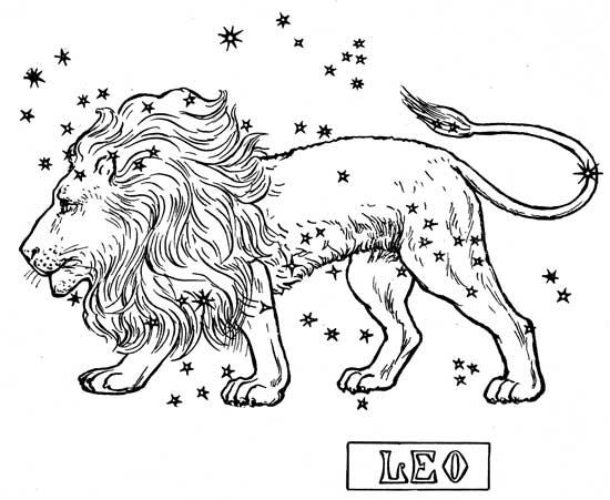 Zodiac clipart leo the lion Website zodiac ClipartMonk Displaying free
