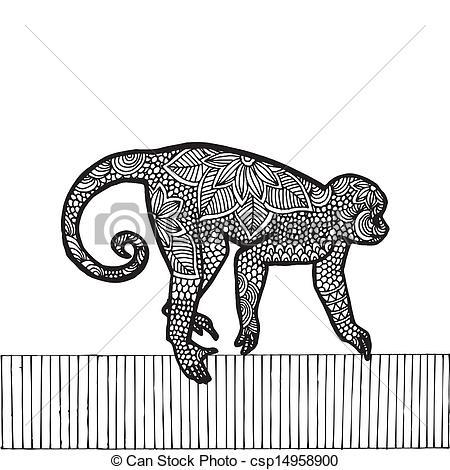 Zodiac clipart monkey Zodiac Monkey of  zodiac