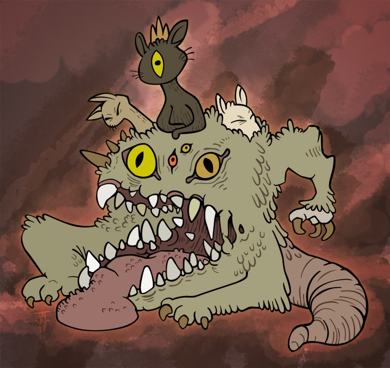 Zodiac clipart monster Monster by DeviantArt on Zodiac