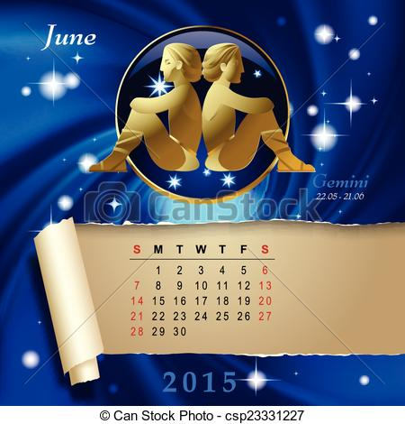 Zodiac clipart month Calendar space sign with month