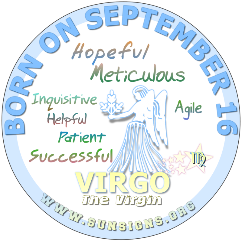 Zodiac clipart september 14 Personality September September Born Personality