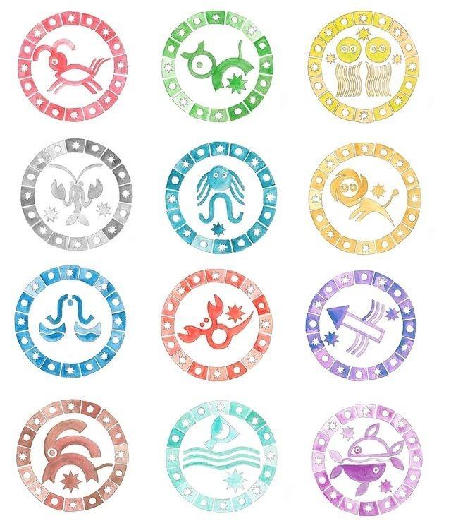 Zodiac clipart their color Your zodiac 113 on color