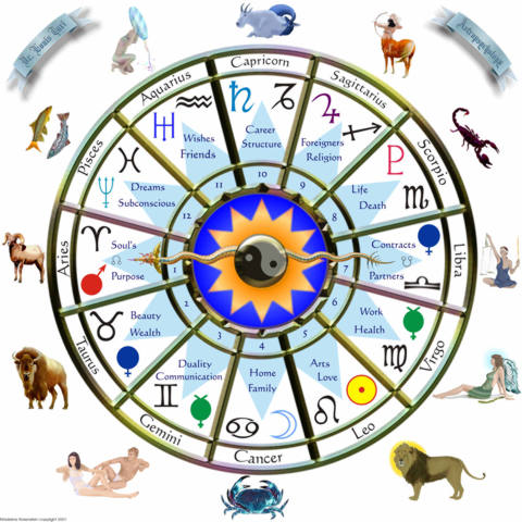 Zodiac clipart their color The SOQI 12 Astrology the
