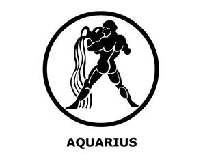 Zodiac Sign clipart aquarius Aquarius Sign Image: Aquarius Image