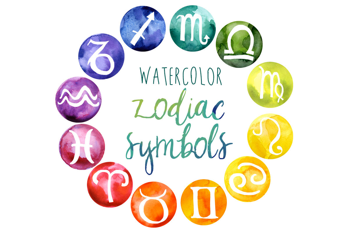 Astrology clipart art Clip Metaphysical Horoscopes Horoscope Rainbow