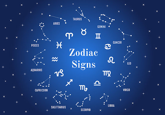 Zodiac Sign clipart astrological Download Etsy clipart digital astrology