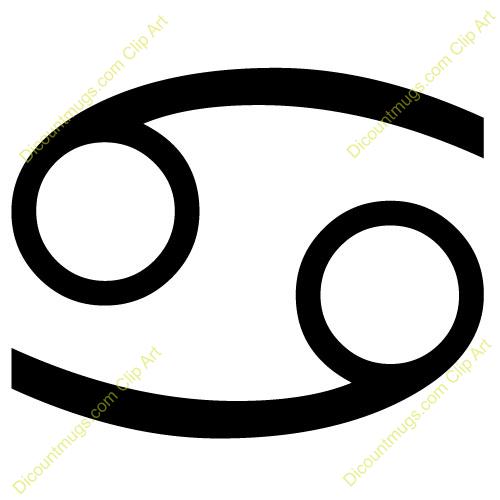 Zodiac Sign clipart cancer Clipart Cancer  Sign
