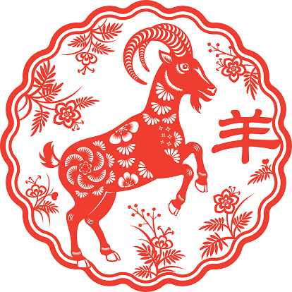Zodiac Sign clipart goat #14