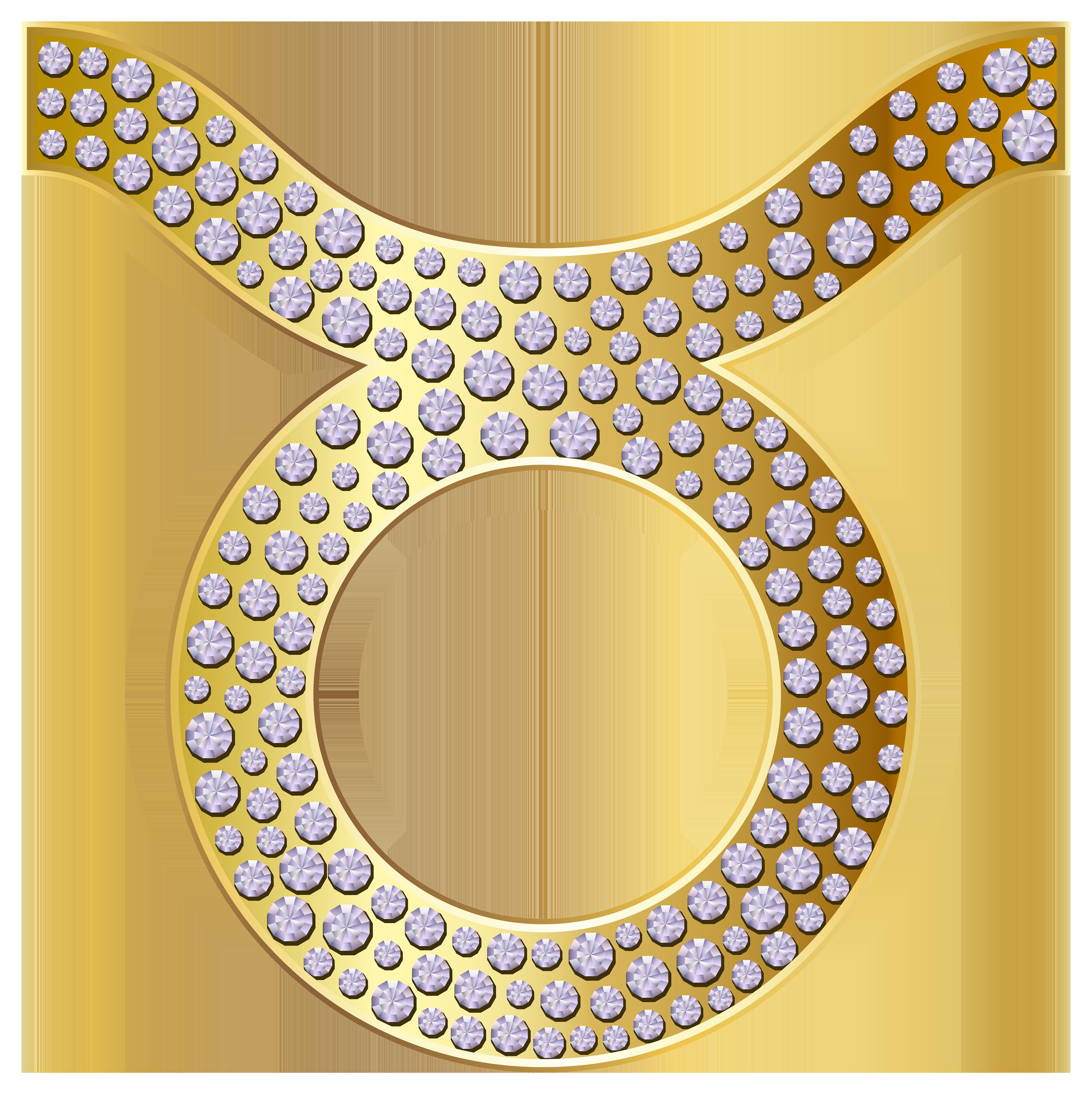 Zodiac clipart taurus Zodiac Art Gold PNG ·