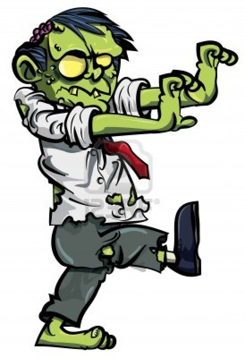 Zombie clipart Vector graphics Real Zombie zombie