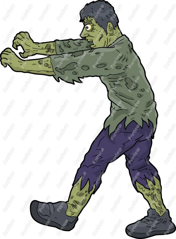 Zombie clipart animated Character Character Royalty Zombie Cartoon