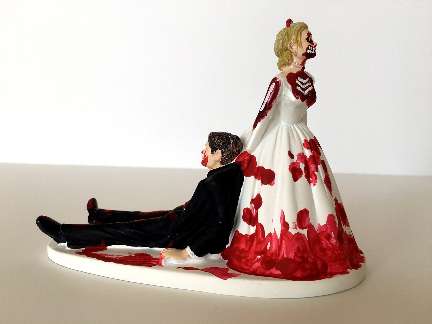 Zombie clipart bride and groom Funny Dragging Wedding Wedding Cake