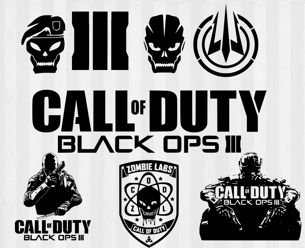 Zombie clipart call duty Ops 3 ops svg Duty